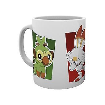 Pokémon, Mugg - Galar Starters
