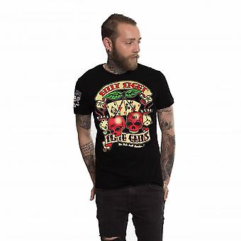 Billy eight - death gains - mens t-shirt - black