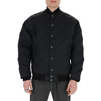 Balenciaga 606756tgo041000 Men's Black Nylon Outerwear Jacket