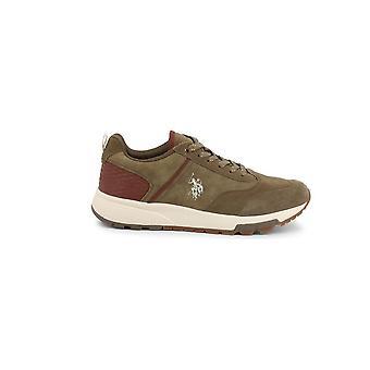 U.S. Polo Assn. - Shoes - Sneakers - AXEL4120W9_SY1_KAK - Men - darkolivegreen - EU 45