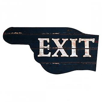 Furniture Rebecca Decorative Plaque Wooden Plaque From Grey Wall Exit 40x20x1