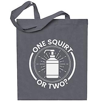 Yksi Squirt tai kaksi saippuaa Totebag