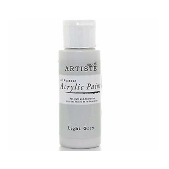 Hantverk AkrylFärg (2oz) - Ljusgrå (DOA 763257)