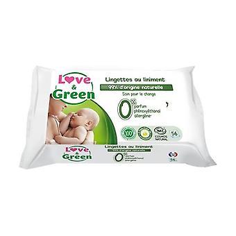 Love & Green Lingettes au Liniment x56 56 units