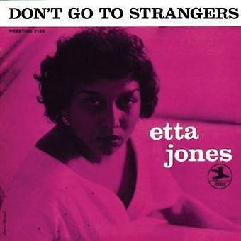 Etta Jones - Don't Go to Strangers [CD] USA import