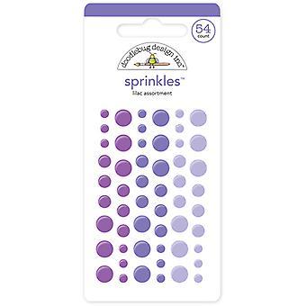 Doodlebug Design Lilac Sprinkles (54kpl) (4012)