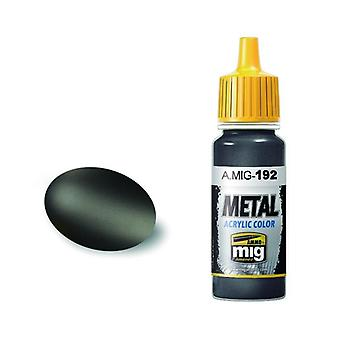 Ammo by Mig Acrylic Metallic Paint - A.MIG-0192 Polished Metal (17ml)