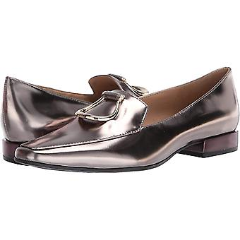 Naturalizer vrouwen ' s Corrine slip-ons loafer, tinnen metallic