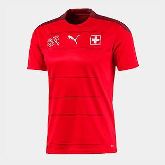 Puma Switzerland 2020 Home Football Shirt
