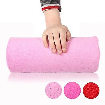 Arte da Unha Macia, Cuidados com manicure - Ferramenta de travesseiro de descanso da almofada de almofada de mão