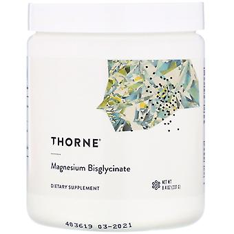 Thorne Research, Magnesium Bisglycinate, 8.4 oz (237 g)