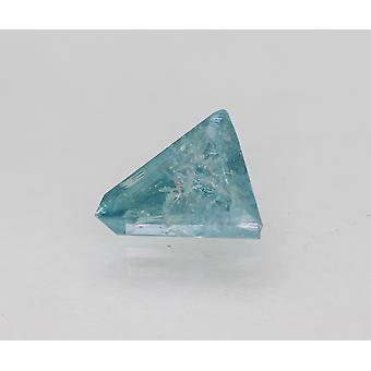 Cert 1.30 قيراط سكاي بلو لون وزارة الدفاع Trapeze المحسن الماس الطبيعي 8.32x7.25mm