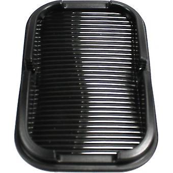 compartiment de rangement antidérapant et support 15 x 10 cm noir en plastique
