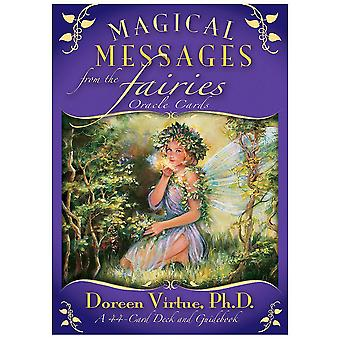 Magical Messages From The Fairies Tarot Cards Guidance Divination Fate Oracle Deck Board Game For Women Party