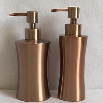 304 Rozsdamentes acél testmosó zuhanypalack, szappanadagolók