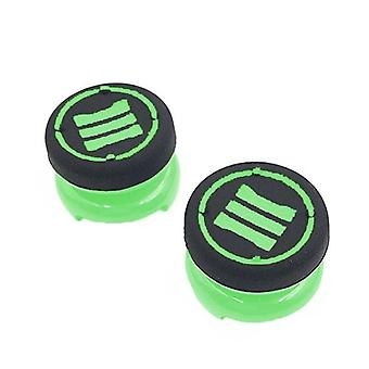 Thumbstick extender grips for sony ps4 controllers tall xl heavy duty non slip analog thumb cap mod - 2 pack green | zedlabz