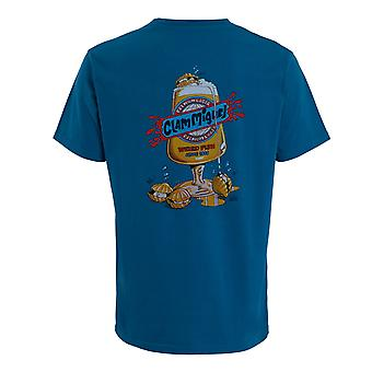 Clam Miguel Artist T-Shirt  Blue