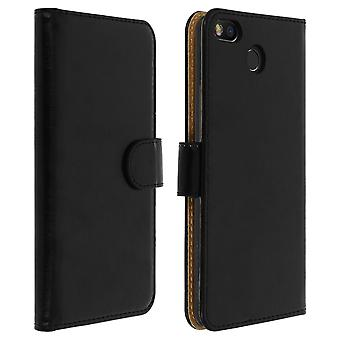 Folio Case with Card Slots for Fairphone 3 Adhesive fixing Magnetic tab-Black