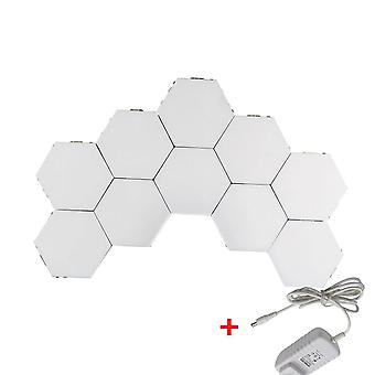 Touch sensor quantum vegg lamper sekskant form honeycomb