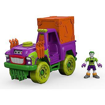 Imaginext DC Super Friends - de Joker Action Figure - Surprise Tank Vehicle