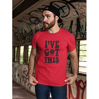 SmileyWorld I've Got This Winking Face Men's T-shirt