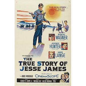 Die wahre Geschichte von Jesse James Film Poster drucken (27 x 40)