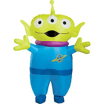 Disfraz inflable alienígena para hombre