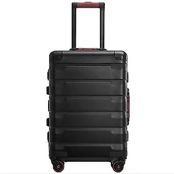 Luxury New Aluminum Travel Suitcase Cabin Trolley Luggage Bag With Wheels