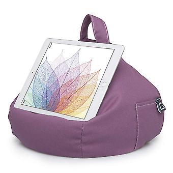 Ibeani باد وسادة &; حامل وسادة اللوحية - يحمل بشكل آمن أي حجم اللوحي، ereader أو كتاب يصل 12. wom21705