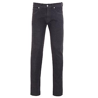 Edwin ED-85 Slim Tapered Jeans - Rinsed Ayano Black