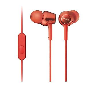 Sony MDR-EX255AP - In-ear Earbuds - Red