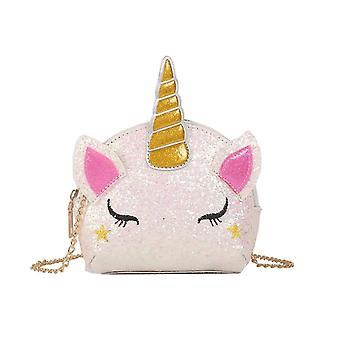 Shiny Unicorn Design Shoulder Bags