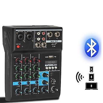 Portable Bluetooth Audio Mixer With Reverb Effect For Usb Stage Karaoke Ktv