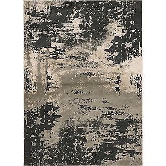 "LUNA 7121 3'3 X 4'11"" / Silver Charcoal rug"