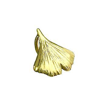 Wisiorek Ginkgo Leaf 9k Gold