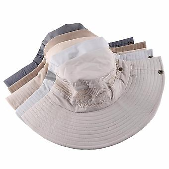 Sun Hat Men & Bucket Hats Women Summer Cap & Wide Brim Uv Protection Flap Hat