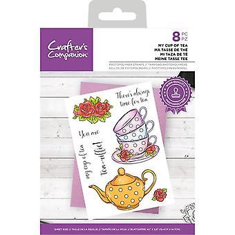 Crafter's Companion Clear Frimärken Min kopp te