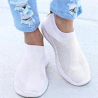 Women Slip-on Flat Plus Size Loafers Flats Walking Shoes