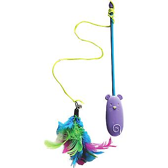 Sharples Feather Interactive Cat Toy