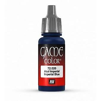Vallejo Game Color 17ml Acrylic Paint 20 Imperial blue