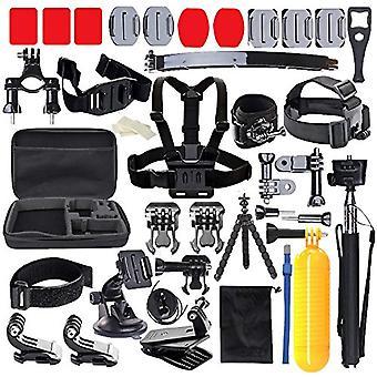 Edose head strap mount chest mount harness chesty accessories kit for akaso ek7000 akaso v50 pro gop