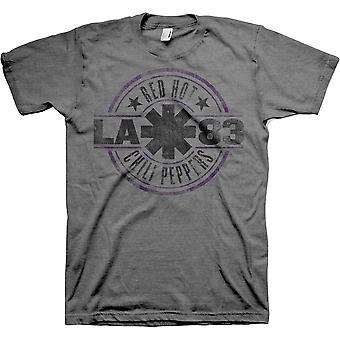 Red Hot Chili Peppers La 83 Official Tee T-Shirt Unisex
