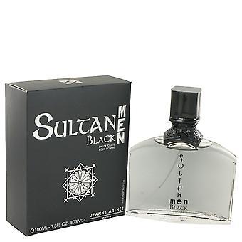 Sultan Black by Jeanne Arthes Eau De Toilette Spray 3.3 oz / 100 ml (Men)