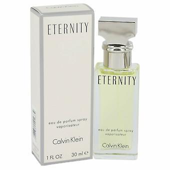 ETERNITY by Calvin Klein Eau De Parfum Spray 1 oz / 30 ml (Women)
