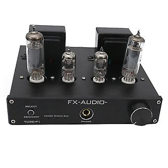FX-Audio TUBE-P1 HIFI MCU Single Ended Classic A Desktop Power Tube Amplifier Headphone Amplifier RC
