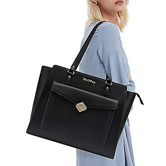 BAIMAY Laptop Bag for Women,15.6 Inch Laptop Tote Bag Computer Business Briefcase-for-Women with Convenient Front Magnetic Pocket for Work Business Travel