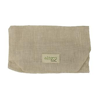 Zero waste shopping XL linen veil bag 1 unit