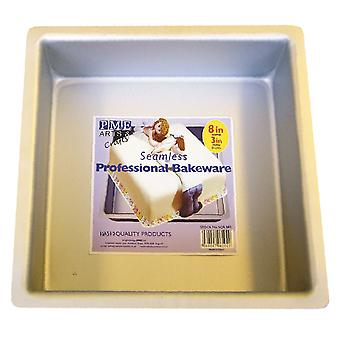 "PME Seamless Professional Bakeware - Cuadrado 203mm (8"")"