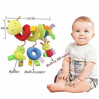 Baby Musical Mobile Bed/crib/stroller Plush Baby Rattles