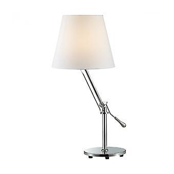 Lámpara De Escritorio Moderna Otelio Krom